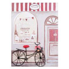 Quadro con bicicletta Pasticceria Decoration, Frame, Vintage, Home Decor, Google, Furniture, Picture Wall, Home Made, Board