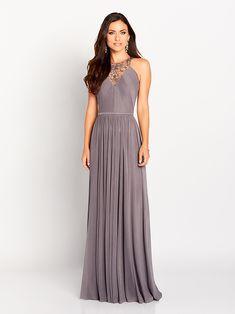 4db3dd5b5bfc Silver Mon Cheri Mother of the bride or groom dress. High neck, sheath with