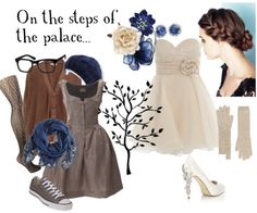Now if I were shorter, I could pull this off... Cinderella from Into the Woods