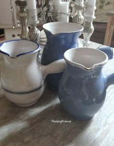 FleaingFrance....French chocolate pots