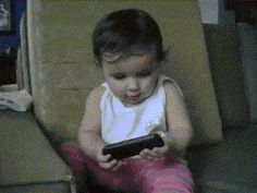 Discover & share this Babies GIF with everyone you know. GIPHY is how you search, share, discover, and create GIFs. Funny Shit, Funny Cute, Funny Texts, Funny Jokes, Hilarious, Funny Gifs, Funniest Gifs, Funny Videos, Phone Gif