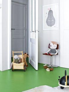 GREEN IN BOYS BEDROOMS - Kids Interiors