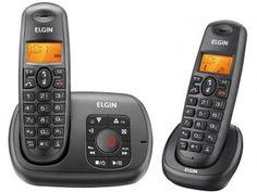 Telefone Sem Fio Elgin Expansível até 3 Ramais - Identificador de Chamadas - TSF 702SE
