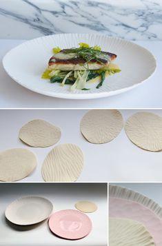 Plates for Spring Restaurant, London | Vezzini & Chen