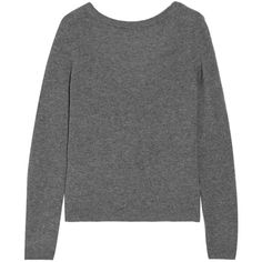 Equipment Calais cashmere sweater (4.017.760 IDR) ❤ liked on Polyvore featuring tops, sweaters, grey, gray top, gray sweater, gray crew neck sweater, grey crew neck sweater and j.crew cashmere sweaters