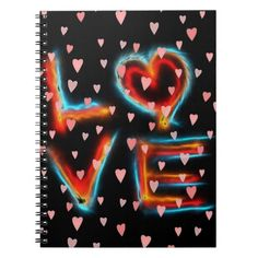Love Notebook #Love #Heart #Family #Marriage #Relationship #Holiday #Valentine #Notebook