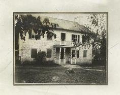 The Nathan Boone House, Charette, Missouri, in which Daniel Boone died.