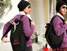 BONCANTA.COM - Tarz Sahibi, Dizayn Harikası, Premium Kalitede Çantalar ~ QIA Premium Silindir Kanvas Sırt Çantası (SB988)