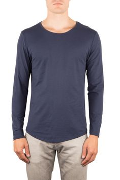 SOUL |SEACELL™ LANGARM | Funktion Schnitt #material #seacell #longsleeve #tshirt #shirt #mensstyle #menswear #fashion #mensfshion #chill #look #funktionschnitt #casual #basic #soft #blue