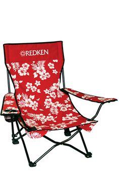 A comfortable beach chair.