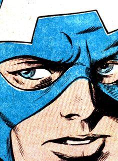 Captain America by Bill Everett