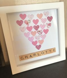 Excited to share the latest addition to my shop: Pink heart girls scrabble tile frame. Handmade with flower and glitter hearts Scrabble Frame, Scrabble Tiles, Handmade Frames, Handmade Items, Handmade Gifts, Glitter Hearts, Pink Glitter, Bank Holiday, Baby Things
