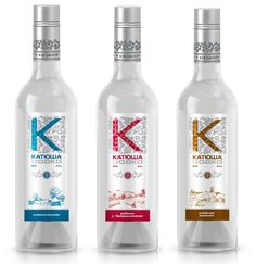 Russia: KiN Group released several positions of premium vodka PD