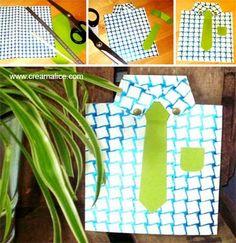 ✩★✩ Carte Chemise Fête des Pères / Father's Day Shirt card ✩★✩ http://www.creamalice.com/Coin_conseils/1-loisirs_creatifs_2013/6B-Tuto_Carte_Chemise_Fete_des_Peres/Tuto_DIY_Carte_Chemise_Fete_des_Peres.htm www.creamalice.com