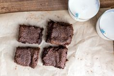 Tahini Chickpea Brownies (grain-free & vegan)-PURE MAMAS