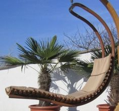 Brighton Hanging Rattan Pod Chair With Stand | Pod chair, Rattan ...