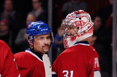 Tomas Plekanec, Carey Price, Canadiens Montreal