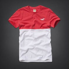 Hollister is the fantasy of Southern California, with clothing that's effortlessly cool and totally accessible. Shop jeans, t-shirts, dresses, jackets and more. Hollister Outfit, Hollister Clothes, T Shart, Abercrombie Men, Men Design, Striped Tee, Cool Tees, Tshirt Colors, Mens Tees