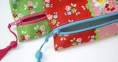 How to make a zip pouch…Simple Zip Pouch Tutorial