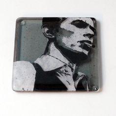 David Bowie Thin White Duke Single Coaster