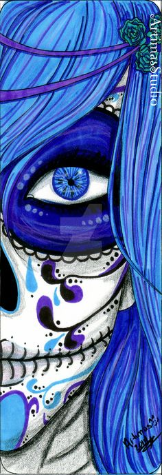 Blue Death 1.5 by ArtimasStudio.deviantart.com on @DeviantArt