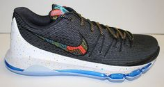 """A Closer Look at the Nike KD 8 """"BHM"""""""