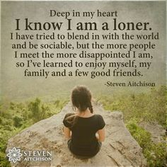 Deep in my old soul, I'm a loner. And that's okay,yup that's okay. Loner Quotes, Introvert Quotes, Old Soul Quotes, Wisdom Quotes, True Quotes, Quotes To Live By, The Words, Les Sentiments, Life Lessons