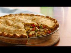 Turkey Pie, Baked Turkey, Frozen Turkey, Best Chicken Pot Pie, Chicken Roti, Freezer Chicken, Vegetable Pie, Pillsbury Recipes, Pillsbury Dough