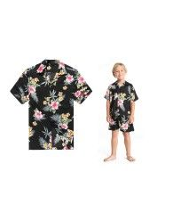 89f5c3ca Father and Son. Matching Couple OutfitsMatching CouplesMatching ShirtsTropical  OutfitMens Hawaiian ...