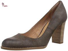 70302802, Chaussures à talons - Avant du pieds couvert femme - Marron - Braun (fango), 42 EUBelmondo