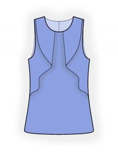 Patterns in sizes - #bllusademujer #mujer #blusa #Blouse