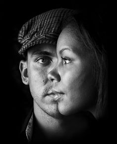 Impressive Black and White Portrait Photography Ideas - GraphicMania