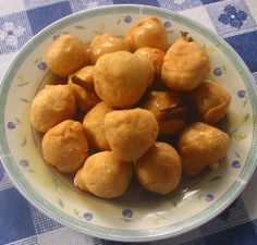 Receta de Buñuelos de yuca