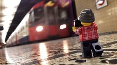 Going underground: Leg will have to be careful to avoid getting caught underfoot while he ...