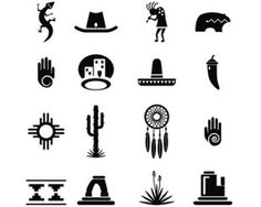 Native American Symbols and Meanings. I'm part native American :) Cherokee Symbols, Native Symbols, Indian Symbols, Native American Symbols, Symbols And Meanings, Native American Design, American Indian Art, Native Art, Native American Indians