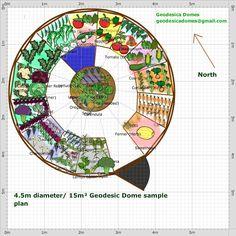 Garden Plan - geodome15 empty planters