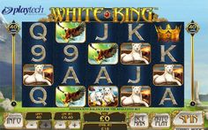 Latest news from UK casino industry Playtech Launches White King, a Roaring Slot Game based on White Lions http://www.thebonuscasinos.co.uk/casino-news/95-playtech-launches-white-king.html