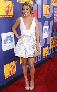 Where can I get Lauren Conrad's white dress that she wore to the mtv award show?