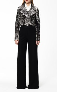 Monique Lhuillier Pre-Fall 2015 Trunkshow Look 2 on Moda Operandi