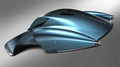 - This Bugatti Stratos concept is a futuristic frenzy of art and design. The idea is based off of the Bugatti 'Type and its looks co. Diesel Punk, Weird Cars, Cool Cars, Bugatti Type 57, Colani, Retro Futuristic, Automotive Design, Auto Design, Future Car