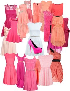 """""""Pretty in Pink Bridal Shower"""" by dog-lover501 ❤ liked on Polyvore"""