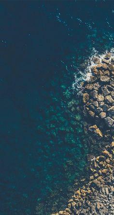 #ocean #blue #brown #oceanphotography,