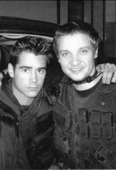 Colin Farrell and Jeremy Renner