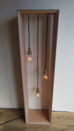 Ltd. Edition Tall Edison Glow Lamp van MatHibbertDesigns op Etsy, £320.00