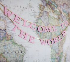 Oh, the Places You'll Go! 16 Awesome Map Decor Ideas For the Nursery - Welcome to the World