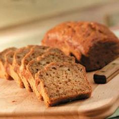 Spiced Pear Bread. Fab use for all of the pears that could go bad