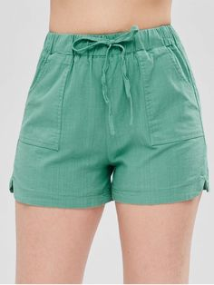 Shorts For Women Sexy Shorts, Gym Shorts Womens, Casual Outfits, Fashion Outfits, Trendy Fashion, Short Models, Pants Pattern, Sewing Clothes, High Waisted Shorts