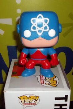 Funko Pop! custom Atom