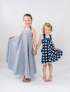 Schnittmuster kleid ida