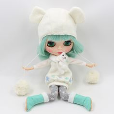 Blyth doll Snow clothes including dress,leggings,hat,shoes,gloves and scarf for 1/6 Doll BJD NEO-in Dolls Accessories from Toys & Hobbies on Aliexpress.com | Alibaba Group
